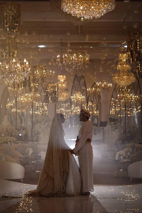 Desert Meets Luxury At Stunning Omani Royal Weddin
