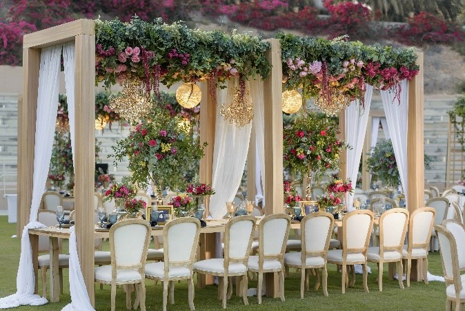 Desert Meets Luxury At Stunning Omani Royal Weddin