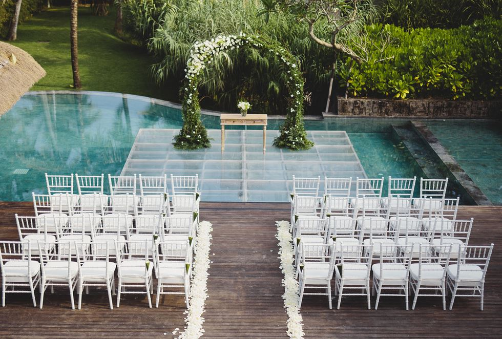 Seseh Beach Villa 2 Canggu Bali Wedding Venue