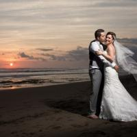 Jordana and Phillip married in Bali