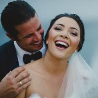 Alexandra and James married in Bali