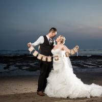 Kirsty and Stephen married in Bali