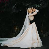 Roxanne and Luke married in Bali