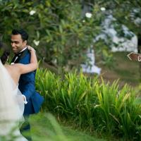 Sarita and Samuel married in Bali