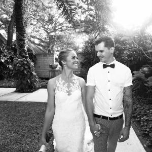 Bek and Troy married in Bali