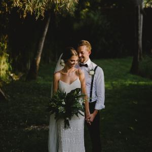 Julie and Paul married in Bali